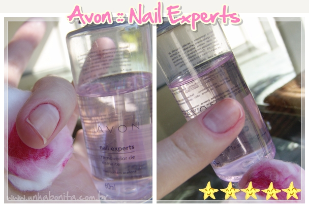 Avon Nail Experts removedor