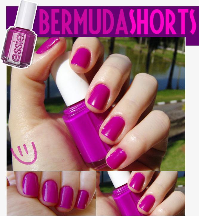 Bermudas Shorts Essie Unha Bonita