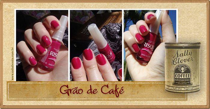 Grao de Cafe Coleção Risque Arabica