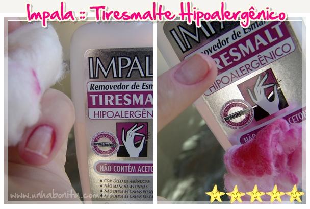 Impala Tiresmalte hipoalergenico