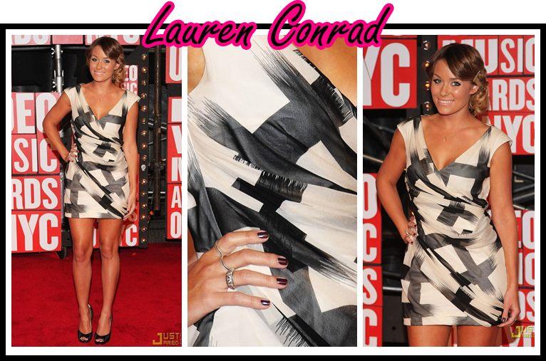Lauren Conrad vma 2009 unha bonita