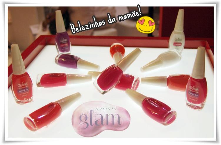 coleção glam colorama unha bonita