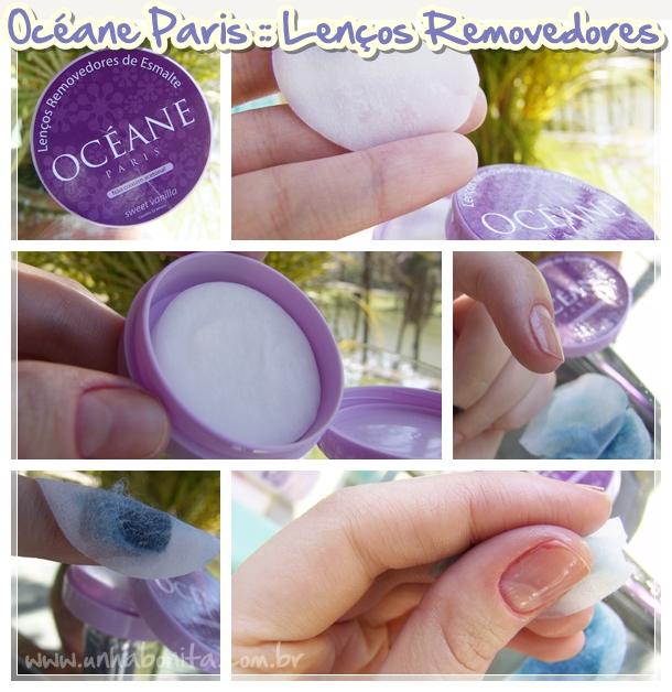 oceane paris lenços removedores