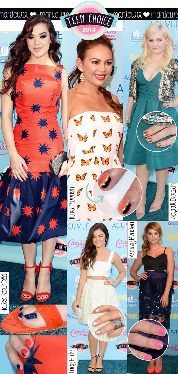 manicure-teen-choice-awards-2013
