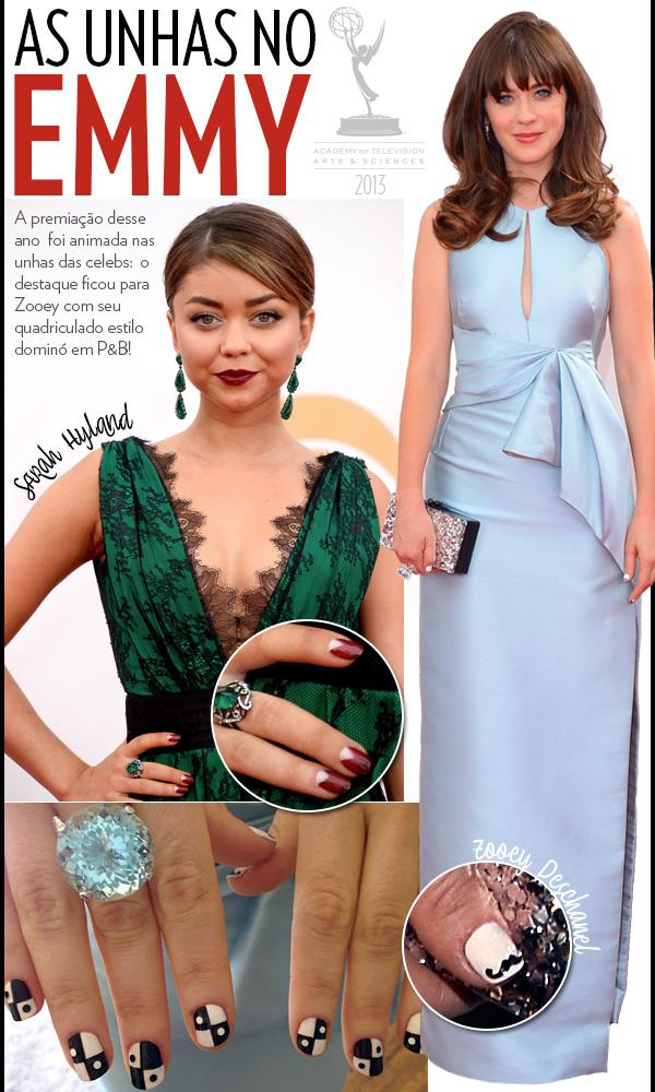 Cor de esmalte para vestido verde esmeralda