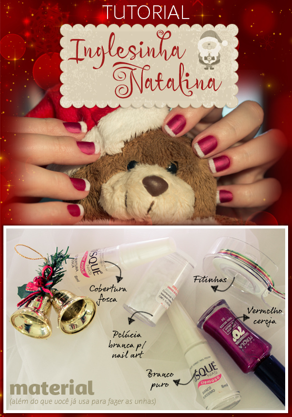 tutorial-inglesinha-natalina-pelucia