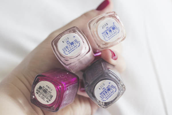 essie-brasil3unha bonita kit granado pink swatches