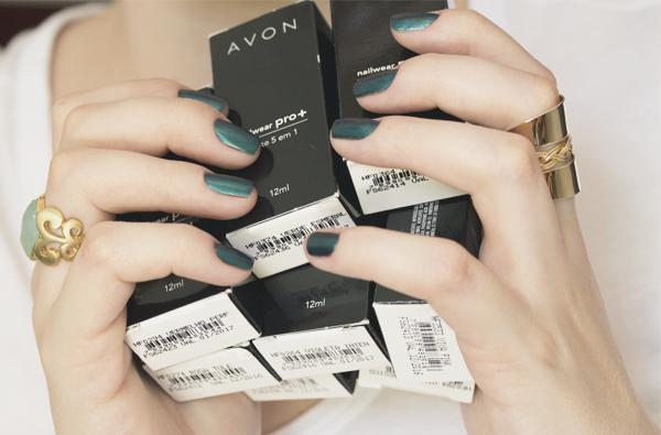 Esmalte Avon Nailwear Pro+ Swatches-12