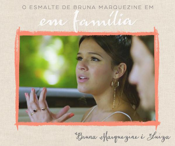 5fa9bab76 O esmalte de Bruna Marquezine na novela