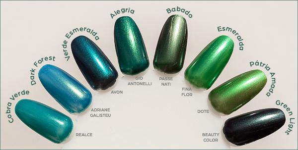 comparacoes-alegria-gio-antonelli-verde-esmeralda-avon---verdes-metalicos