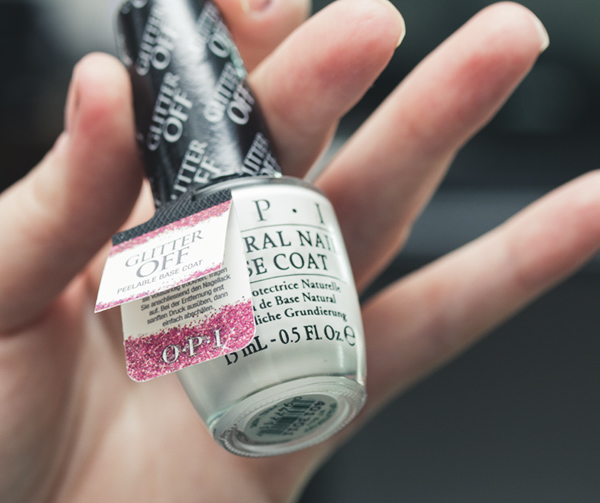 glitter off opi peelable base coat resenha review-11