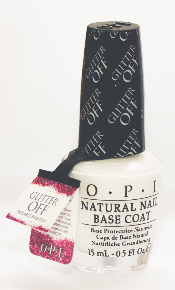 glitter off opi peelable base coat resenha review-3