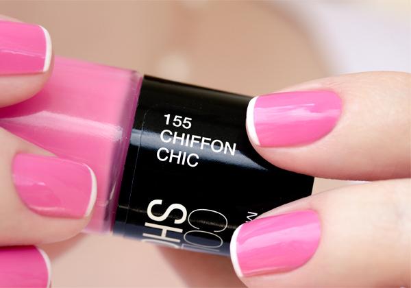 nail art rosa branco pink white chiffon chic maybelline-12