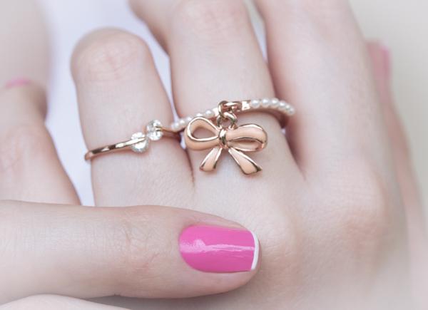 nail art rosa branco pink white chiffon chic maybelline-6