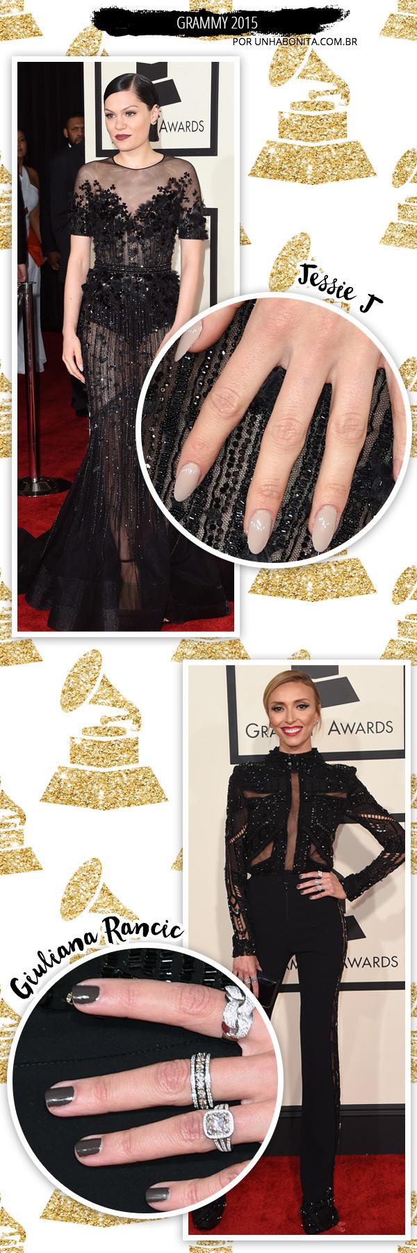 Giuliana-Rancic-jessie-j-grammy-2015-manicure