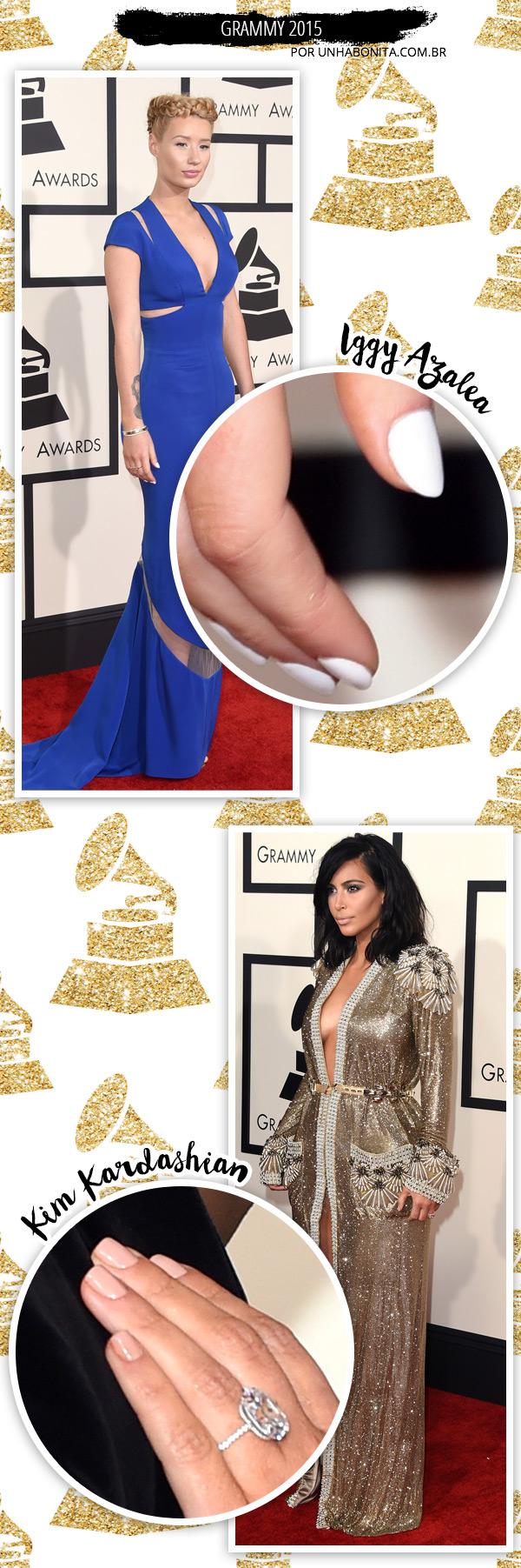 iggy-azalea-Kim-Kardashian-grammy-2015-manicure
