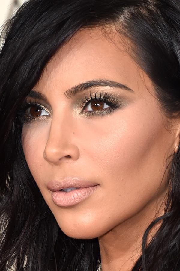 maquiagem-kim-kardashian-grammy-2015