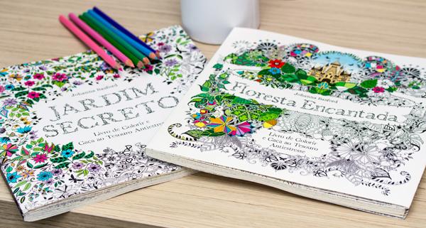 ideias para pintar o jardim secretolivro Jardim Secreto nas unhas (e