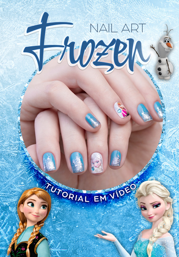 nail-art-frozen-tutorial-video-unha-bonita