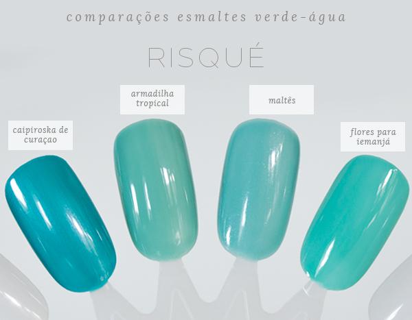 1-comparações-esmaltes-verde-água-risque